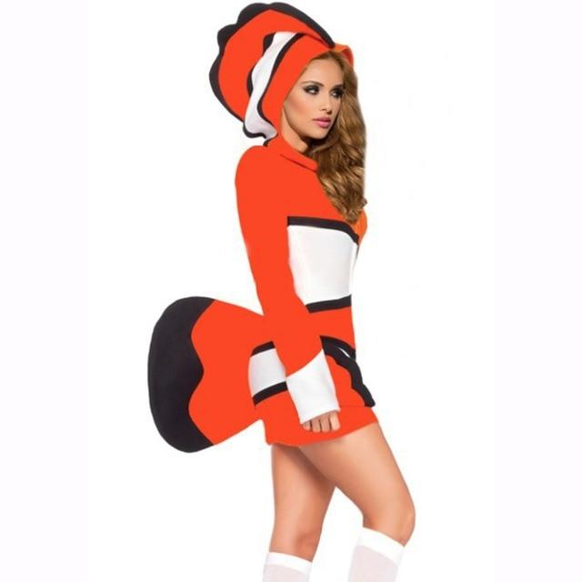 Finding Nemo Ocellaris Clownfish Cosplay Costume Tropical Fish Costume  Orange Stripes Halloween Costumes for Women - Aliexpress.com : Buy Finding Nemo Ocellaris Clownfish Cosplay