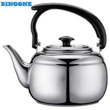Hohe Qualität 17 cm x 11 cm 1000 ML Edelstahl Teekanne Kaffee splitter 33 unze Kaltem Wasser Topf Wasserkocher Hause Küche Tee Werkzeug-35