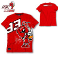 2016 New Fashion Summer MOTO GP 93 Marc Marquez T Shirt Men Motorcycle Short Sleeve T-shirt Casual Tees red plus size S-XL