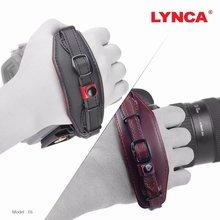 Correa para mano y muñeca con placa de liberación rápida para cámaras Canon, Nikon, Pentax, SLR, negro y marrón