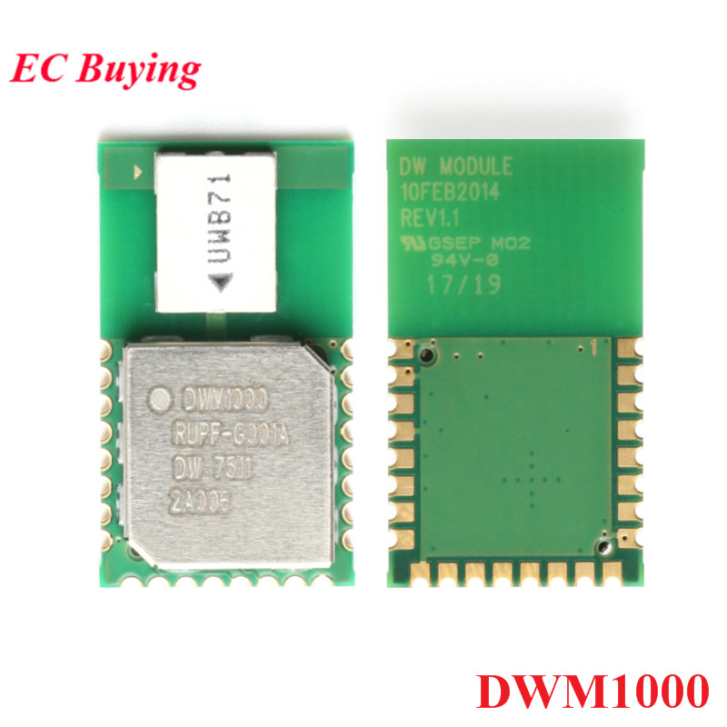 DWM1000 Positioning Module UWB Indoor Ultra-wideband Measure Time  Difference System