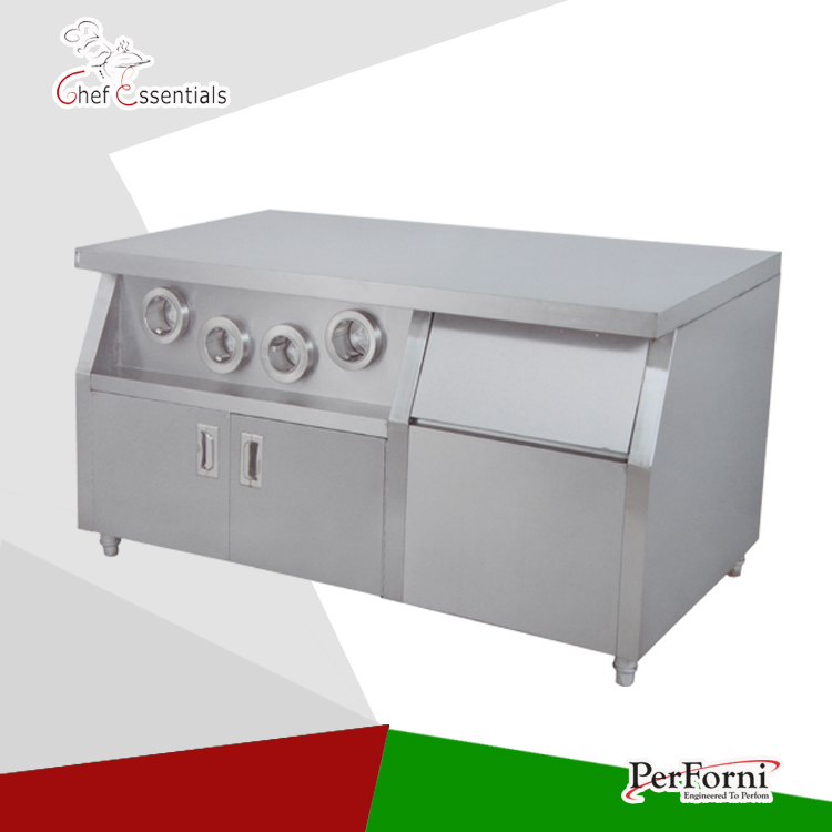 PKJG-WS02 Fast Food Equipment for Commercial Center Island fast food leisure fast food equipment stainless steel gas fryer 3l spanish churro maker machine