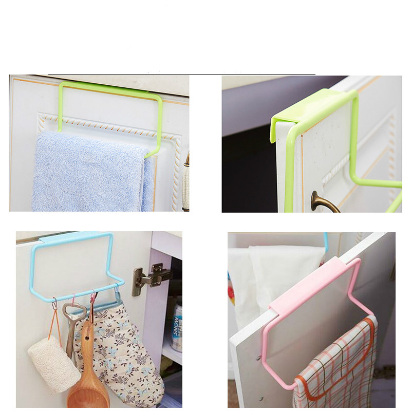 Kitchen Over Door Organizer Bathroom Shelf Towel Cabinet Cupboard Hanger for Supplies Accessories Tools