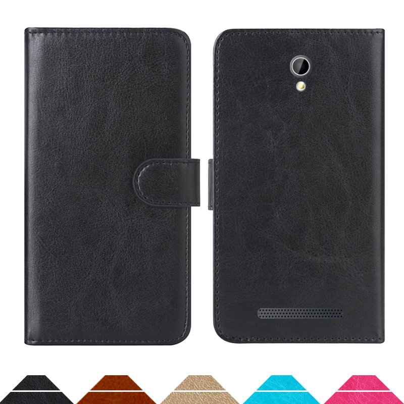 Luxury Wallet Case For Micromax Bolt Q357 PU Leather Retro Flip Cover Magnetic Fashion Cases Strap