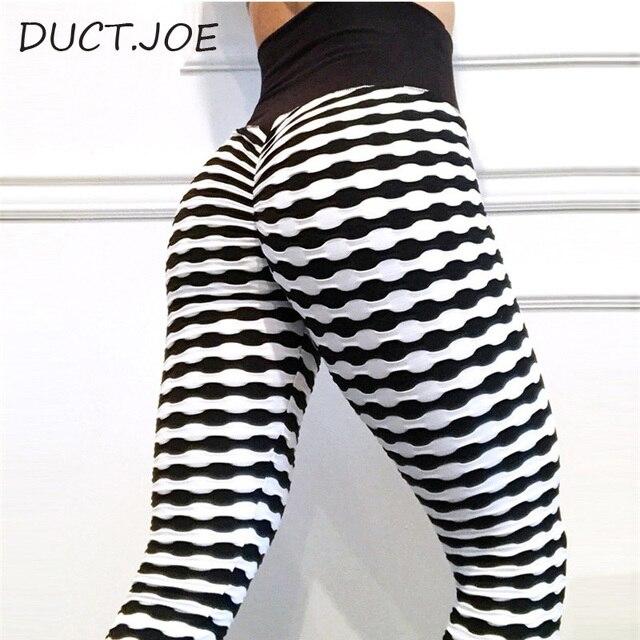 DUCTJOE New Leggings For Women 5 Colors Print High Waist Casual Workout Lift The Sexy Hips Leggings Fitness Scrunch Butt Leggins