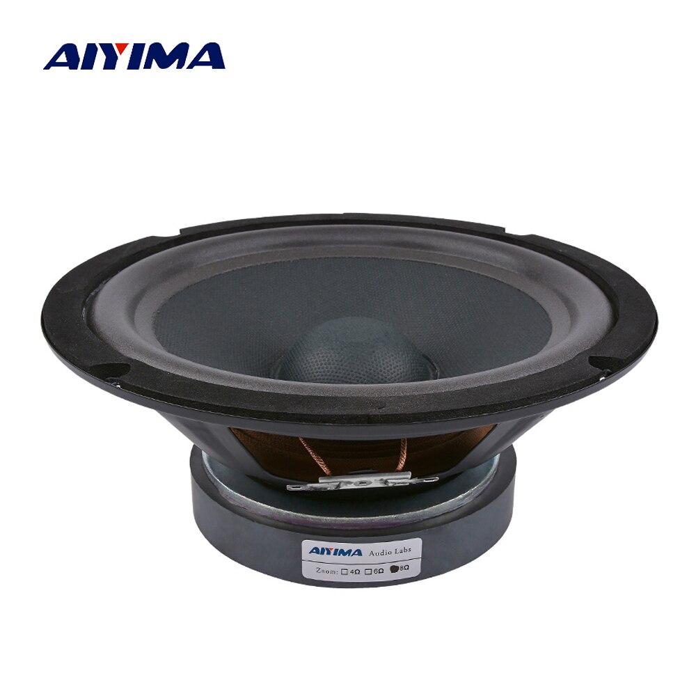 Unterhaltungselektronik Lautsprecher Aiyima 1 Pc 8 Zoll Audio Sound Lautsprecher 120 Magnetische Woofer Lautsprecher 8 Ohm 300 W Bass Lautsprecher Für Hause Theater Sound System HeißEr Verkauf 50-70% Rabatt