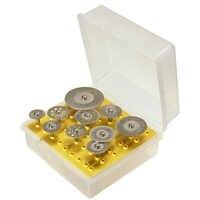 10pcs/set Diamond Cutting Discs Cut-off Hold Wheel Set For Dremel Rotary Tool Cutting / Grinding / Engraving Tools