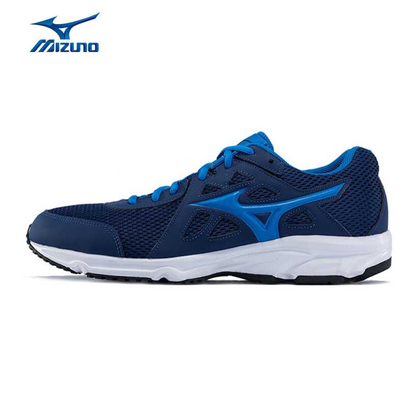 MIZUNO Men's SPARK 2 Running Shoes Cushion Breathable Sports Shoes Airmesh Sneakers K1GA170354 XYP504 mizuno men rebula v3 ag professional cushion soccer shoes sports shoes comfort wide sneakers p1ga178603 yxz069