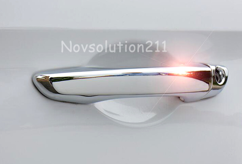 Silver Abs Car Accessories Side Door Handle Cover Trim