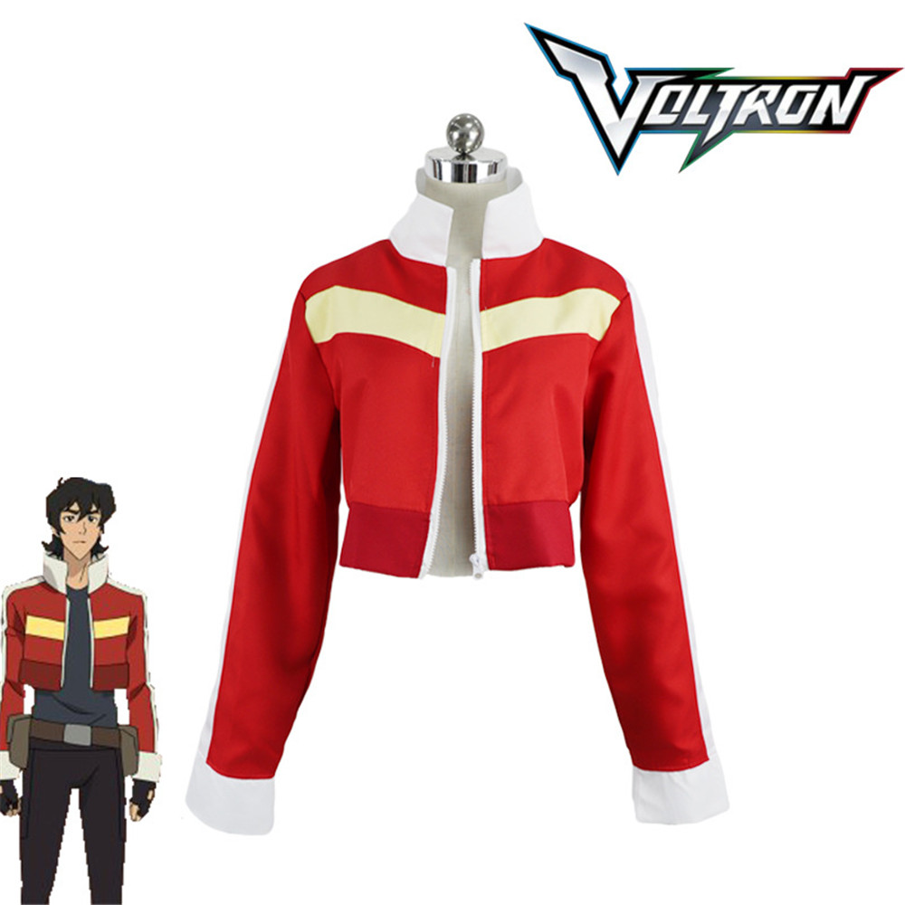Voltron:Legendary Defender of the Universe Keith Akira Kogane Cosplay Costume Jacket Coat adult men/women