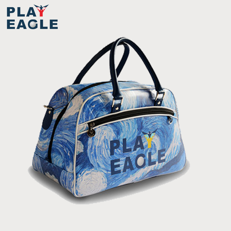 PLAYEAGLE Van Gogh starry sky golf boston bagPLAYEAGLE Van Gogh starry sky golf boston bag