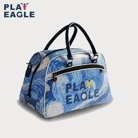 PLAYEAGLE Van Gogh starry sky golf boston bag