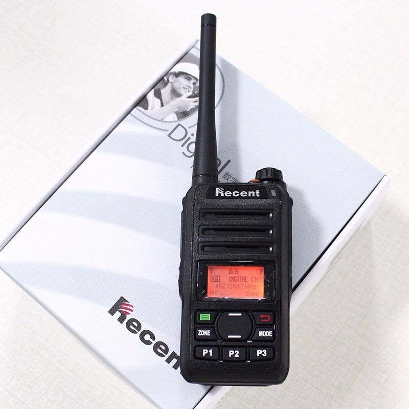 Új 309D dPMR Digitális hang Walkie Talkie 3W UHF kétirányú rádiós kommunikációs telefon CB rádiók sonka HF adó-vevő 256CH