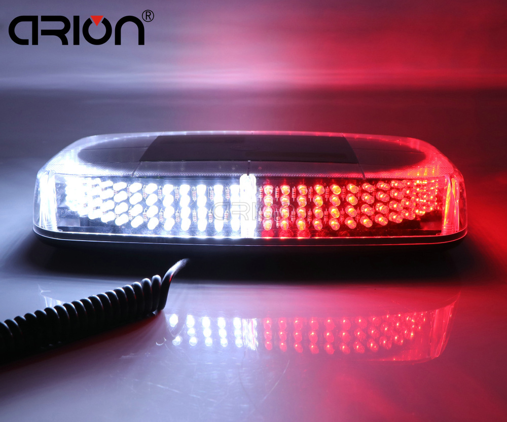 CIRION 240 LED Car Rood Emergency Hazard Warning Mini Light bar Magnetic Strobe Flash Police Lights Lamp Red White car Roof led