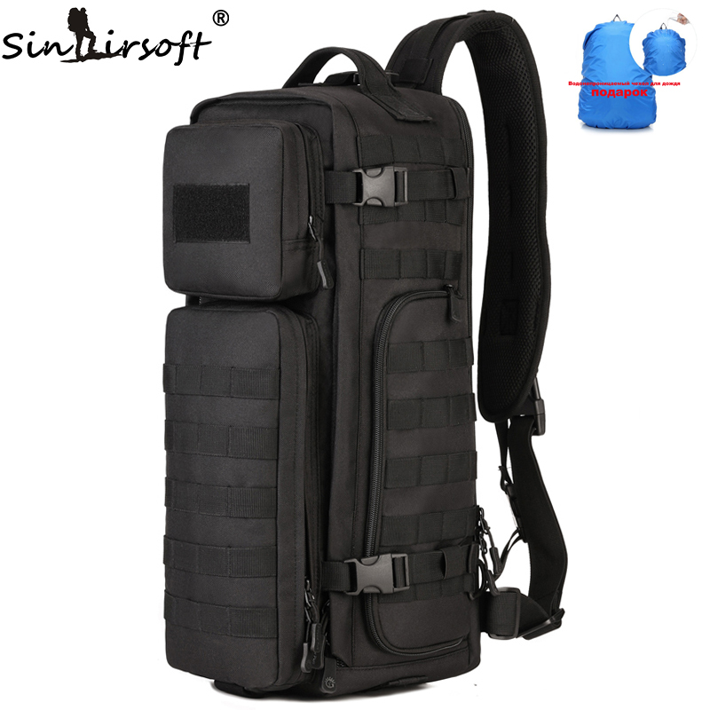 SINAIRSOFT Outdoor Tactical Sports Bag Climbing Airborne Bag Men Tactical Backpack Military Rucksack Travel Hiking Messenger Bag airborne pollen allergy