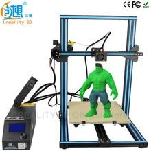 CREALITY 3D CR-10S desktop 3d-drucker Metallrahmen Professionelles Hoher Auflösung Stabile Einzigen extruder LCD Display Filamente
