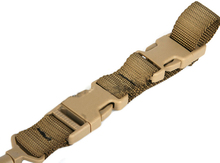 Elastic Lanyard Gun Sling with Adjustable Buckle