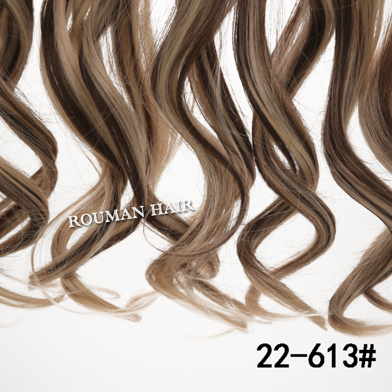 24inch 60cm one piece curly hair clip in ombre dip dye synthetic 24inch 60cm one piece curly hair clip in ombre dip dye synthetic hair extensions 5combs heat resistant fading fo rhairpieces on aliexpress alibaba pmusecretfo Gallery