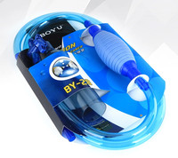 BOYU Brand Top Quality 2 55m Siphon Gravel Cleaner For Aquarium Fish Tank Cleaning Washing Sand