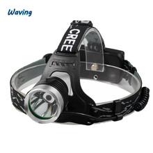 1PC 2017 Bike tool Flashlight 4500 Lm CREE XM-L XML LED Headlamp Headlight flashlight head light lamp 18650 Jan 8