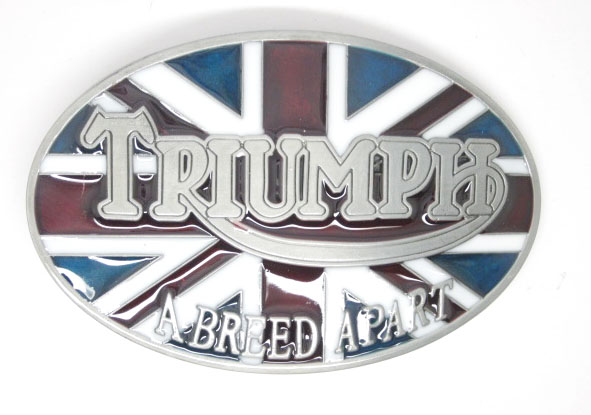 TRIUMPH Motorcycles A Breed A Part Belt Buckle