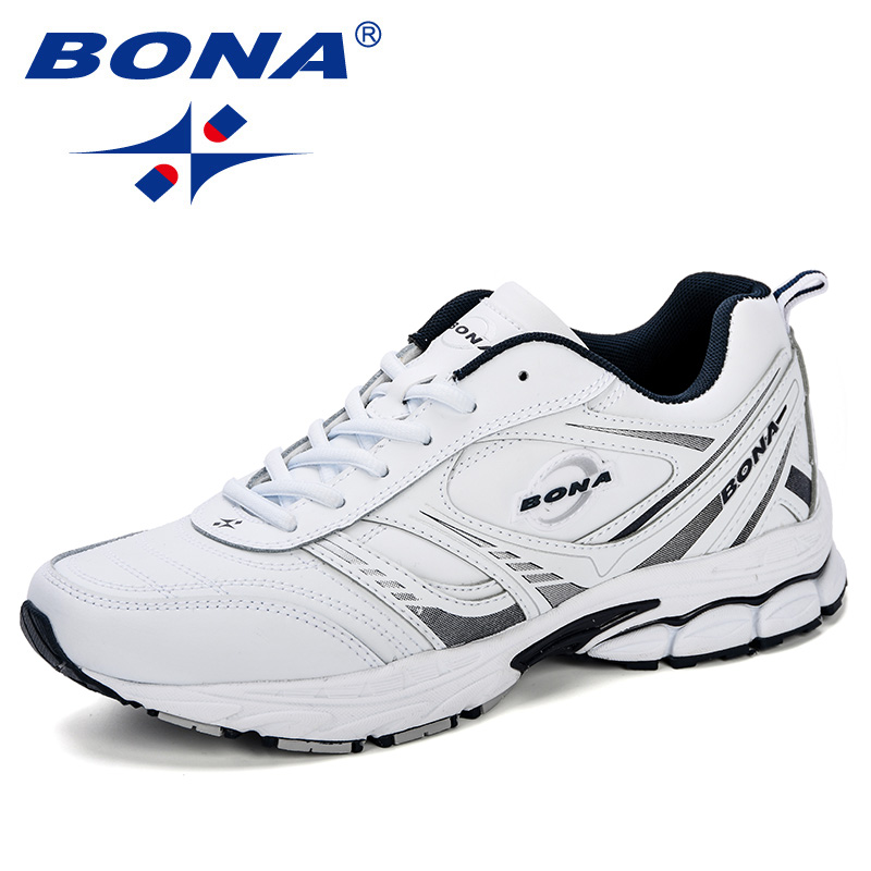 BONA Men Shoes Breathable Running Shoes Men Sneakers Outdoor Sport Shoes Professional Athletic Shoes Male Trainers