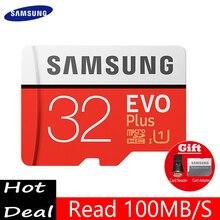 SAMSUNG Evo Microsd Card 256G 128GB 64GB 32GB 100Mb/s Class10 U3 U1 Micro SD Card Memory Card TF Flash Card for smartphone