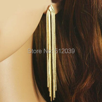 Clothes Accessories Gold Color Copper Snake Chain All