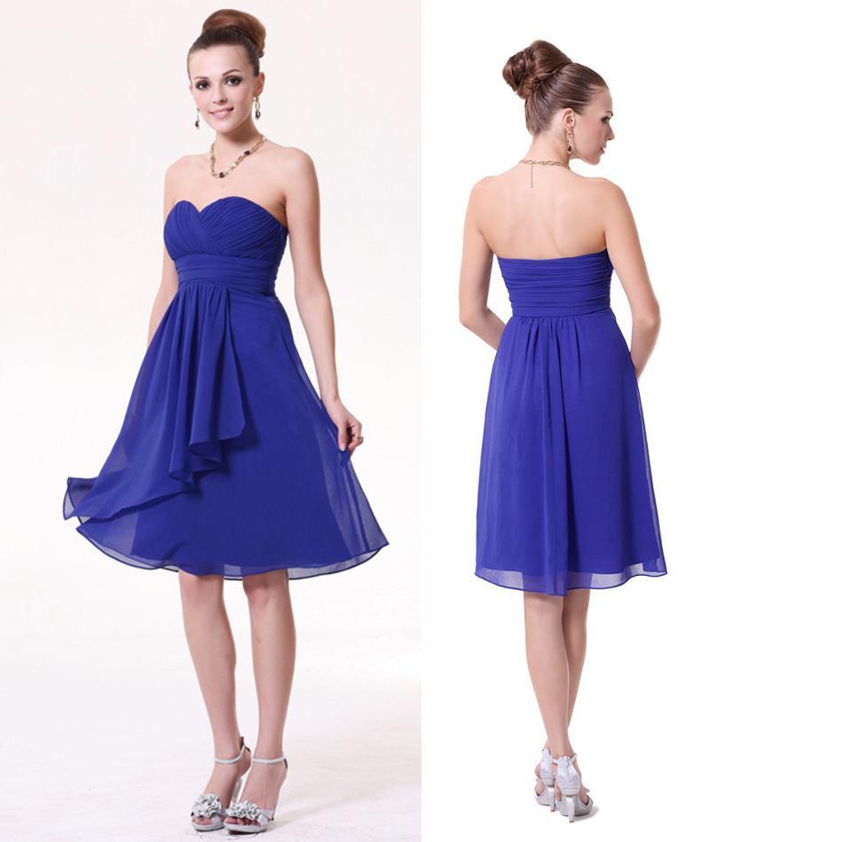 Hermosa Vestido De Dama Joven Componente - Vestido de Novia Para Las ...