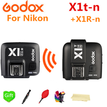 Godox X1T-N TTL 2.4 G Wireless HSS Flash Trigger Transmitter + X1R-N Receiver for Nikon GODOX V860II-N TT685-N TT600 Flash