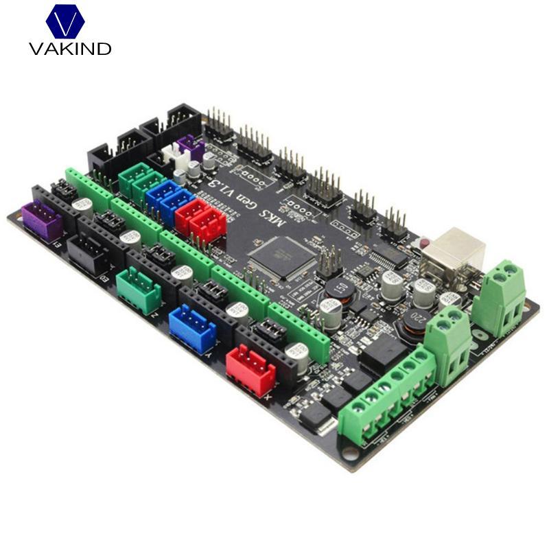 VAKIND 3D Printer MKS Gen V1.4 Control Board 2560 R3 Motherboard Compatible With USB 3D Printer Parts For Ramps 1.4 Set free shipping 3d printer ultimaker1 5 7 control board supports dual print compatible ramps