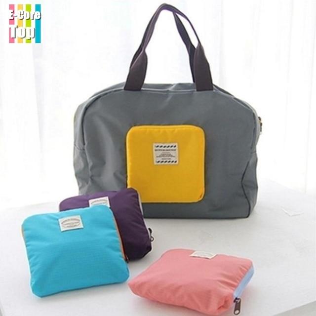Travel Bag Street Per Korean Style Waterproof Folding Into Pocket Multi Function Handbag