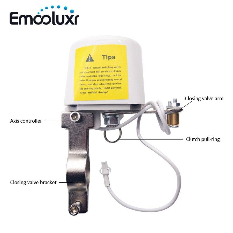 DN15, DN20 Manipulator Valve for Water/Gas Automatic Shut Off dn15 automatic bypass valve for wall mounted boiler system