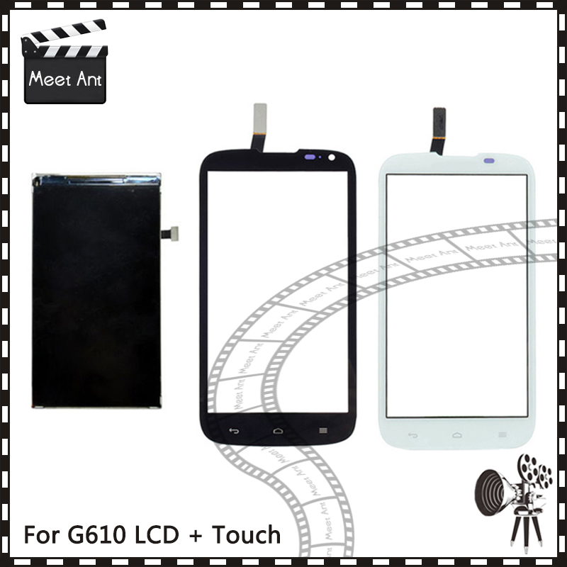 New High Quality 5.0'' For Huawei Ascend G610 Lcd Display With Touch Screen Digitizer Sensor