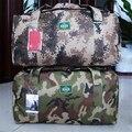 Gran Capacidad de Camuflaje Militar de Los Hombres de Viaje Manija Bag Lady Bolso Del Alpinismo Grande 45-80L Solo Hombro Messenger Bag B285