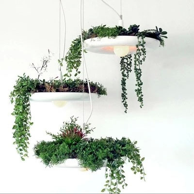 Modern Plant Pot Deco Pendant Lamp Fashion Nordic Shade Modern Dining Table Hanging Light Fixture DIY Luminaire Office Lighting white black pink rose red purple wine red modern globe shade feather pendant light lamp indoor deco ceiling fixture lighting