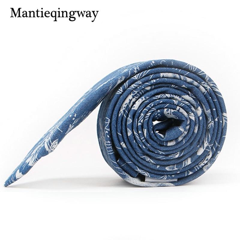 Mantieqingway 6,5 cm kokvilnas apdruka - vīriešu kaklasaite kāzu - Apģērba piederumi - Foto 4