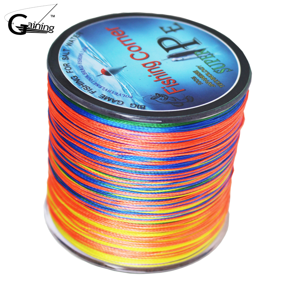 Fishing-Line Multifilament 100LB Strong-Japan PE Super 500m 10-20-30-40-60-80 title=