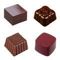 3D кубическая форма из поликарбоната, шоколадная форма для инъекций, леденец из поликарбоната, пудинг, желе форма для выпечки, сделай сам, Кон...