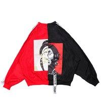 Harajuku Bomber Jacket Women Coats Long Sleeve Coat Autumn Veste Baseball Women Tops Jacket Sobretudo Streetwear