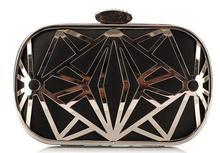 Pop women bag evening party bag European style hot sale handbag hollow out single shoulder bag mini evening bag