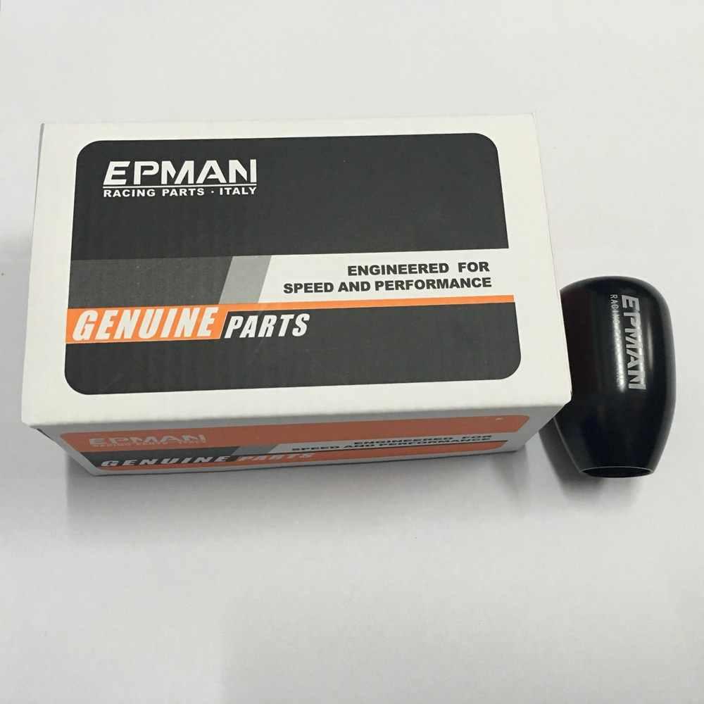 Epman Универсальное автомобильное руководство ручка переключения передач рычаг переключения передач алюминиевая ручка 6 скоростей EPSK019S6
