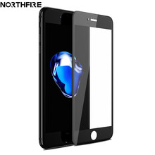 KISSCASE 3D Tempered Glass on the For iPhone 7 8 6 6s HD Full Screen Protector Film For iPhone X 6 7 8 Plus Soft Edge Carbon