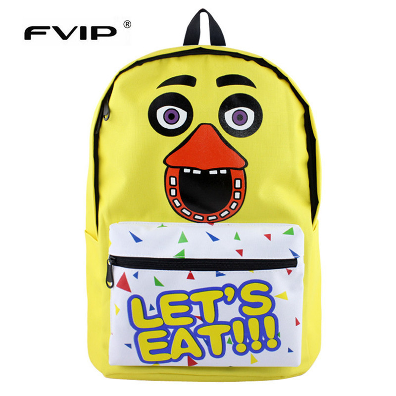 Fvip Five Nights At Freddys Teenagers Backpacks School Bag Student Backpack Bag Boys Girls Bagpacks Mochila Bolsas Escolar