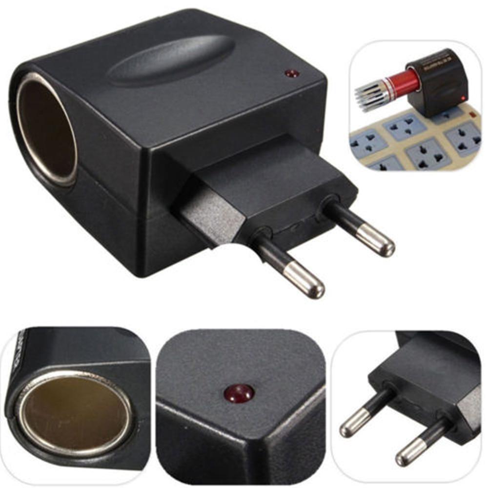New 220V AC To 12V DC Car Cigarette Lighter Wall Power Socket Plug Adapter AC To DC Electrical Converter Voltage Converter