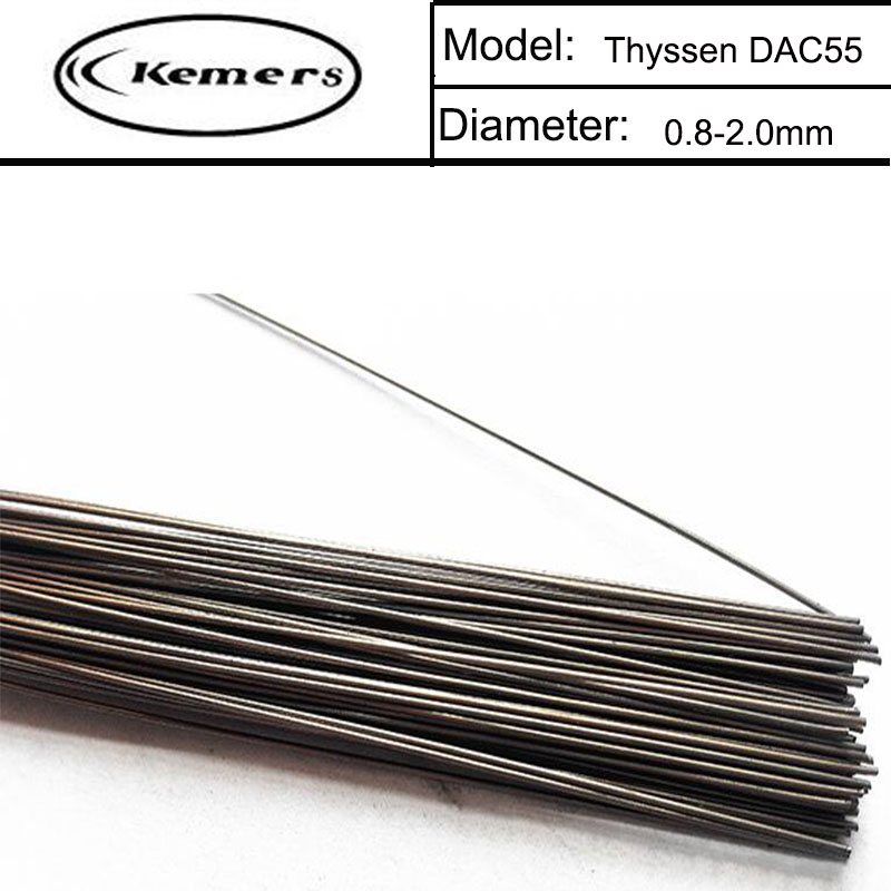 1KG/Pack Kemers Thyssen Mould welding wire DAC55 for Welders (0.8/1./0/1.2/2.0mm) T012023 professional welding wire feeder 24v wire feed assembly 0 8 1 0mm 03 04 detault wire feeder mig mag welding machine ssj 18