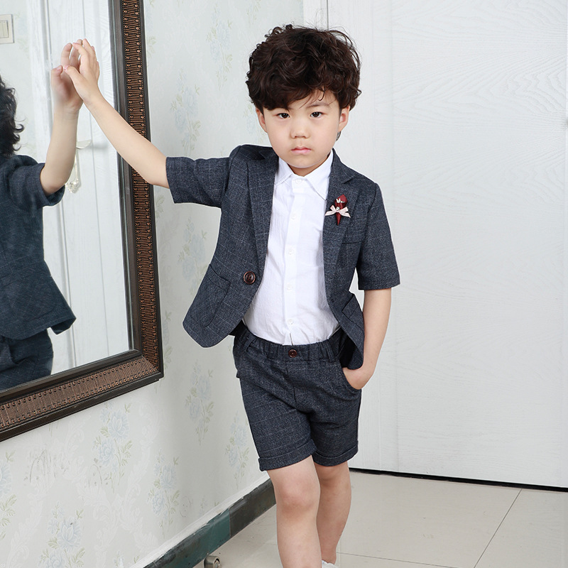 cc2919e67bb Detail Feedback Questions about Boy Wedding Suit Boys  Tuxedo Gentlemen Boys  Suits For Weddings Jacket + Shirts + Pants 3Pcs Blazers Kids Formal Clothes  ...