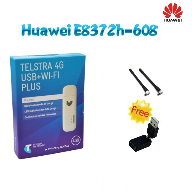 (+2pcs antenna+ usb rotation) Original Unlock HUAWEI E8372H-608 150Mbps 4G LTE 12V CAR WiFi Router 2pcs antenna usb rotation original unlock huawei e8372h 608 150mbps 4g lte 12v car wifi router