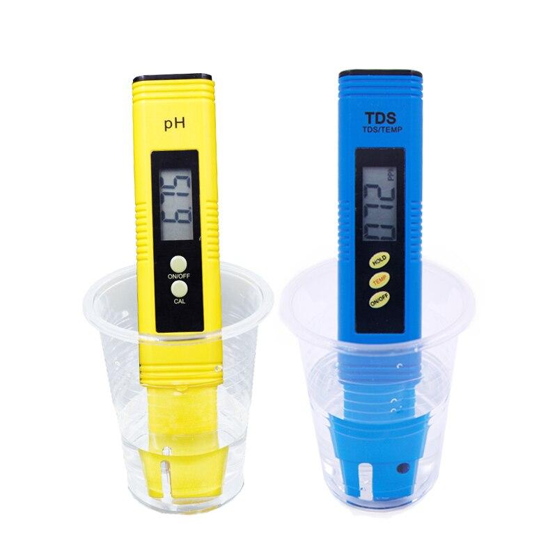 Digitale PH-Meter Automatische kalibrierung 0,01 und TDS Tester Titan sonde wasser qualität test Monitor Aquarium Pool 14% off