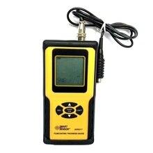 Film Coating Thickness Gauge Tester Meter Digital Handheld AR931 Measuring Range 0-1800um gy910 handheld digital coating thickness gauge tester diagnostic tool measuring fe nfe coatings lcd display